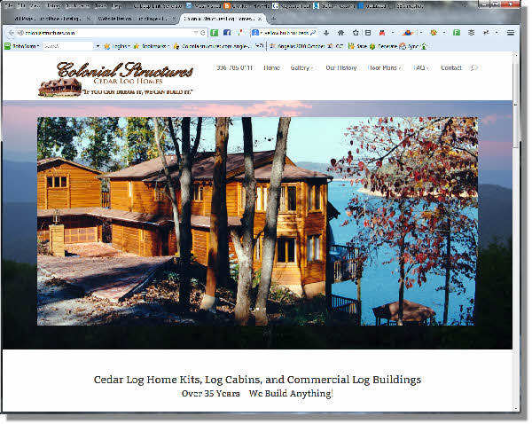 Colonial Structures Website