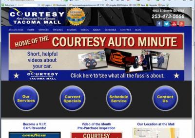 Tacoma Auto Repair Website