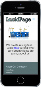 Your New Mobile Website