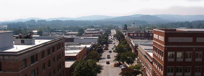 Main Street Hendersonville NC